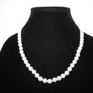 14k GE Gold and pearl necklace 19""